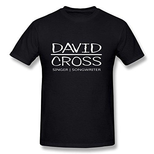 David Cross Tour 2016 Logo T Shirt For Men Black XL