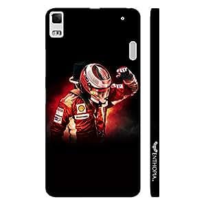 Lenevo 7000 mula 1 Racer designer mobile hard shell case by Enthopia