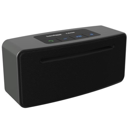 Trendwoo Bluetooth スピーカー 重低音ワイヤレススピーカー ポータブル スピーカー Bluetooth 4.0+EDR 亜鉛合金素材 2*5W+CSR4.0Bluetoothチップ+4000mAhリチウム電池+ハンズフリー通話可能+連続再生8時間 ブラック Beat it