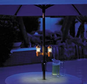 AquaGlow Umbrella Lights - Antique Bronze (Discontinued by Manufacturer)