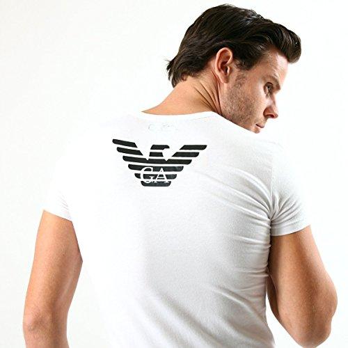 (エンポリオアルマーニ) EMPORIO ARMANI UNDERWEAR イーグルロゴ 半袖 Tシャツ アルマーニ メンズ ブランド【並行輸入品】