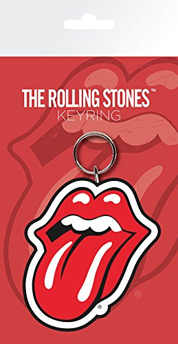GB eye LTD, The Rolling Stones, lips, Portachiavi