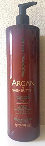 Phytorelax Argan & Shea Butter Color Treated Hair Shampoo, 33.8 Oz. by Phytorelax