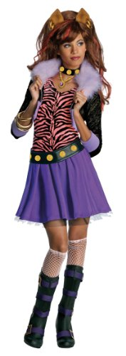Rubie's Clawdeen Wolf Monsters High Fancy Dress (Medium)