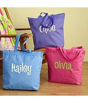 Personalized Fun in the Sun Beach Tote Bag