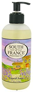 South Of France Liquid Soap - Lavender, 12-Ounce