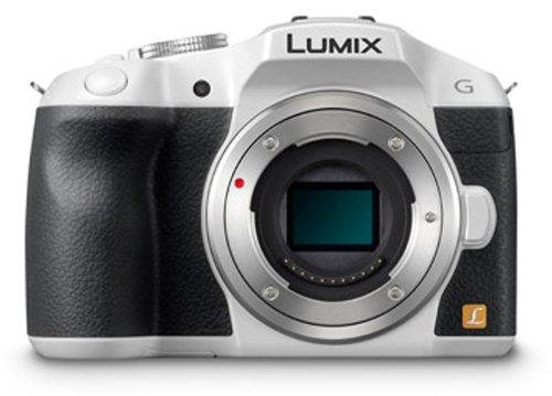 Panasonic デジタル一眼カメラ ルミックス G6 ボディ 1605万画素 ホワイト DMC-G6-W