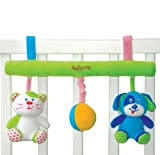 MaByLand Doggy and Kitty Cot/Pram Rattle