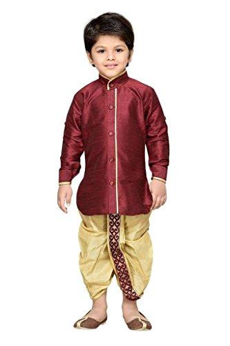 7996dbfc520d 69% OFF on Krystle Kids Kurta Waistcoat and Dhoti Pant for Boys on Amazon |  PaisaWapas.com