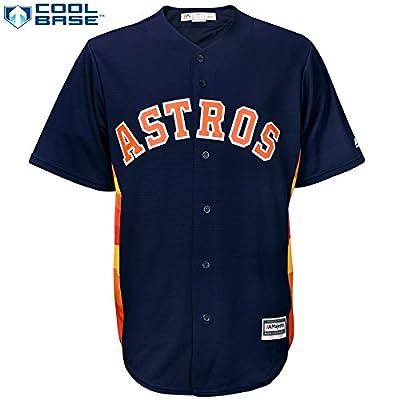 Houston Astros MLB Men's Cool Base Official Alternate Jersey Navy