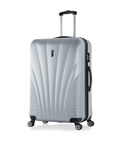 "InUSA Chicago 29"" Hardside Luggage, Silver"