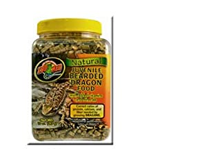 Zoo Med's Natural Juvenile Bearded Dragon Food 567g by ZooMed