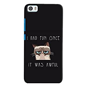 ColourCrust Xiaomi Mi5 Mobile Phone Back Cover With Quirky Style - Durable Matte Finish Hard Plastic Slim Case