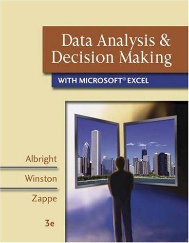 Data Analysis and Decision Making with Microsoft Excel...