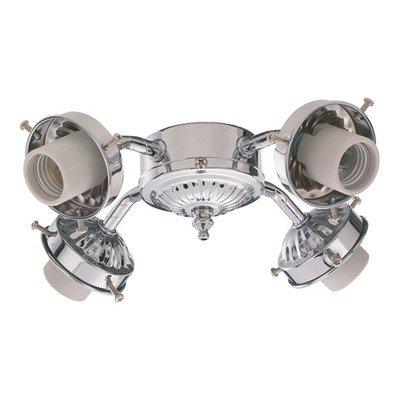 Ceiling Fan Light Kit in Chrome