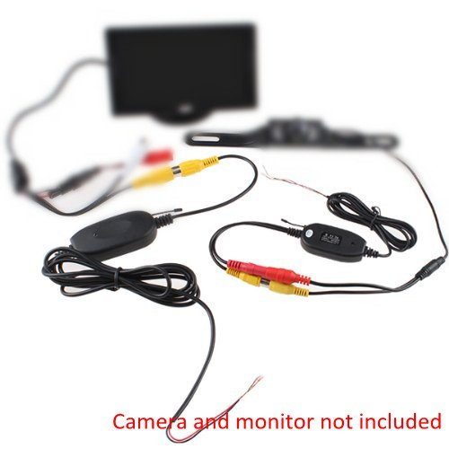 2.4G Wireless Color Video Transmitter And Receiver For Vehnicle Backup/Front Camera