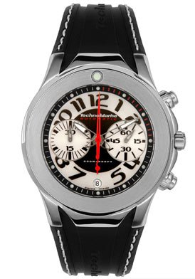 Men's Diva Dimitri Automatic Chronograph Black Rubber