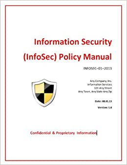 ... Security Manual Template By Information Security Policy Manual Templates  Toolkit ...