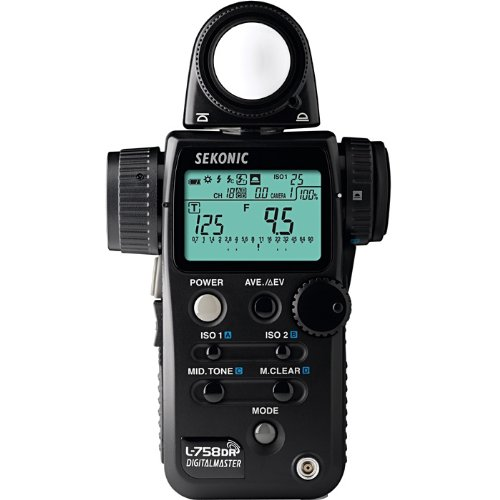 Sekonic Digitalmaster L-758DR (Built in Radio Transmitter) Digital Light/Flash Meter