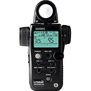 Sekonic 401-758 Light Meter (Black)