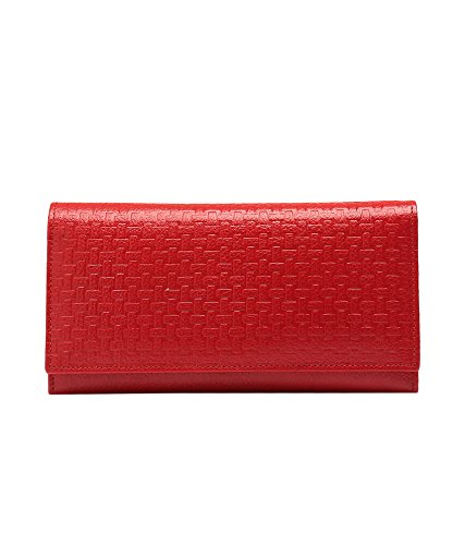 Lifestyle Escobar Bi-Fold Self Wallet - Red (Brown)