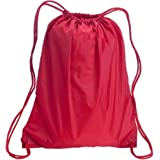 Liberty Bags Large Nylon Drawstring Backpack Trade Show Giveaway