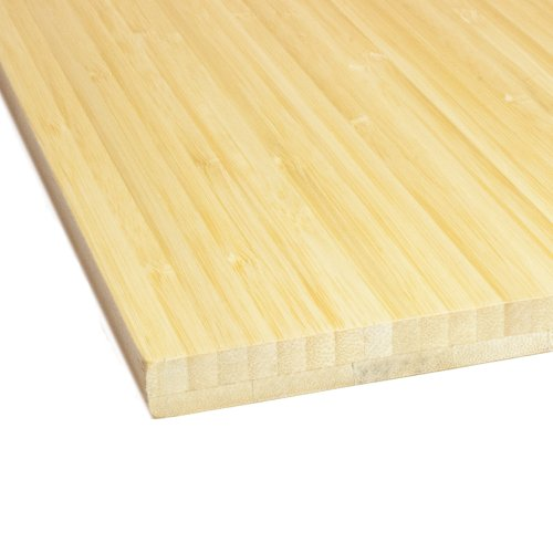 Boedika 9-56912 100-percent bamboo, Stair Riser, 96-Inch Long,  Vertical Grain-Horizontal Grain Natural Pre-Finished, 2-Pack