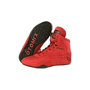 Buy Otomix Stingray Boot Wrestling Shoes - Red Black size 6.5 by Otomix