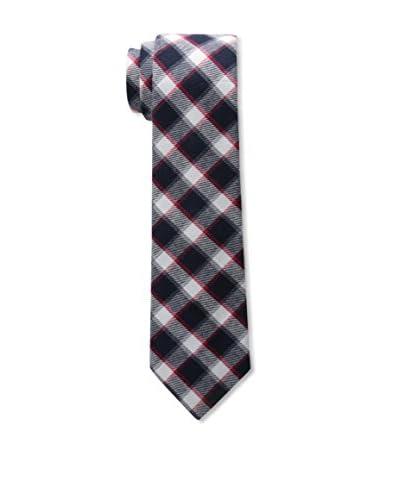 Buffalo Men's Navy Plaid Tie