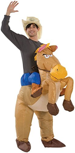 SGY Halloween Inflatable Cowboy Outfit - Horse Fancy Dress Costume - Stag Night Party