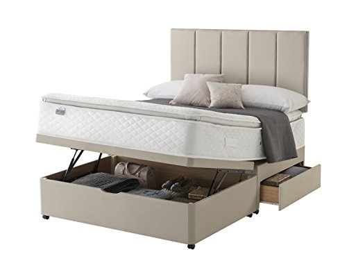 silentnight-stratus-miracoil-geltex-pillow-top-2-drawer-ottoman-divan-bed-super-king-sandstone