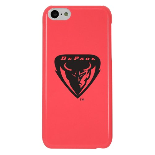 Ncaa Depaul Blue Demons Case For Iphone 5C, One Size, Pink