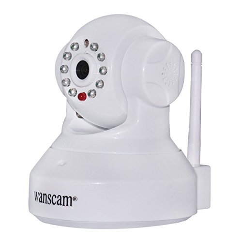 Wanscam 1.0 Megapixel Wifi Ip Network Camera Cctv Security 720P Hd Wireless Dual Audio Ir Cut Baby Monitor Night Vision Motion Detect Internet - White front-278278