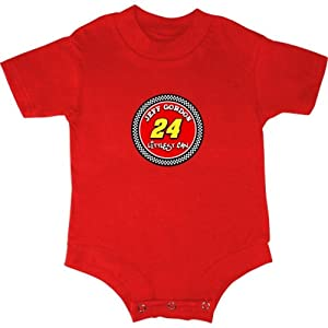 Buy Checkered Flag Jeff Gordon Infant Littlest Fan Creeper - Red by Checkered Flag