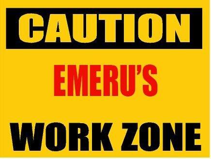 9x12-aluminum-caution-emeru-work-zone-novelty-decorative-parking-sign