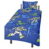 Toy Story Infinity Single Duvet Set, Kids Boys Room Twin Duvet Cover Set