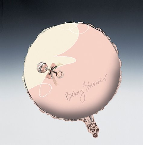 Little Angel Foil Balloon (1 per package) - 1