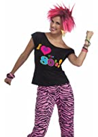 Forum Novelties Women's 80's Remix Costume Shirt