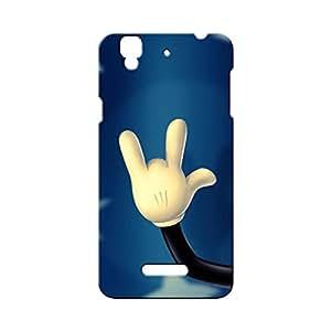 G-STAR Designer Printed Back case cover for Micromax Yu Yureka - G7654