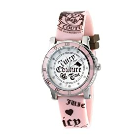Juicy Couture Jelly Band Sports Watch Silver