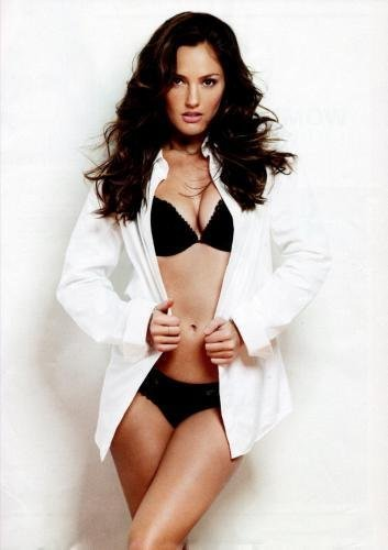 Minka Kelly Lingerie Poster #01 Esquire Magazine Photoshoot 24