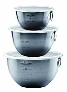 Tovolo Stainless Mixing Bowls - Set of 3 by Tovolo