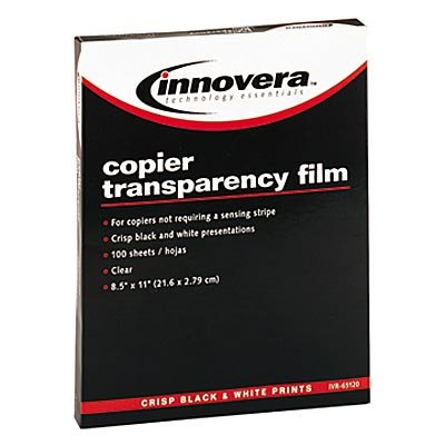 INNOVERA Clear Transparency Film for Plain Paper Copiers - Buy INNOVERA Clear Transparency Film for Plain Paper Copiers - Purchase INNOVERA Clear Transparency Film for Plain Paper Copiers (INNOVERA, Office Products, Categories, Office & School Supplies, Presentation Supplies, Transparency Film)