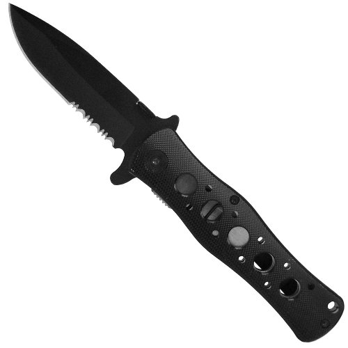 4.5 Inch Tactical Pocket Knife – Black