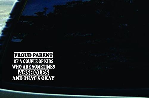 Kids Proud Parent Vinyl Decal