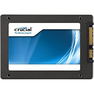 Crucial m4 128GB 2.5-Inch (9.5mm) SATA 6Gb/s Solid State Drive CT128M4SSD2
