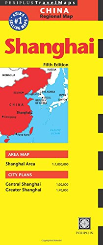 China Regional Map: Shanghai (Periplus Travel Maps)