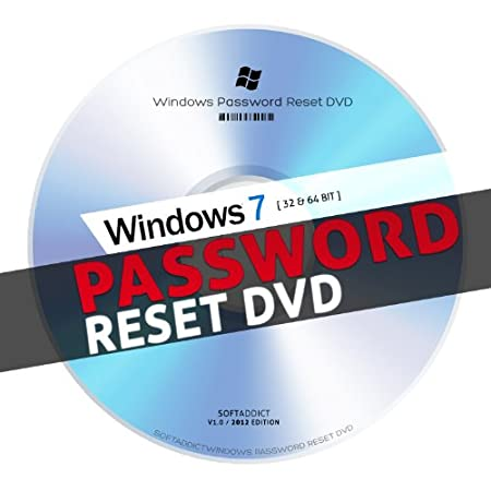 Windows 7 Password Reset and Recovery for Desktop and Laptop (32bit and 64 bit)