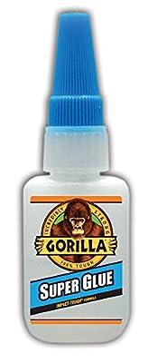 Gorilla Glue 7805001 15g Gorilla Super Glue, Clear