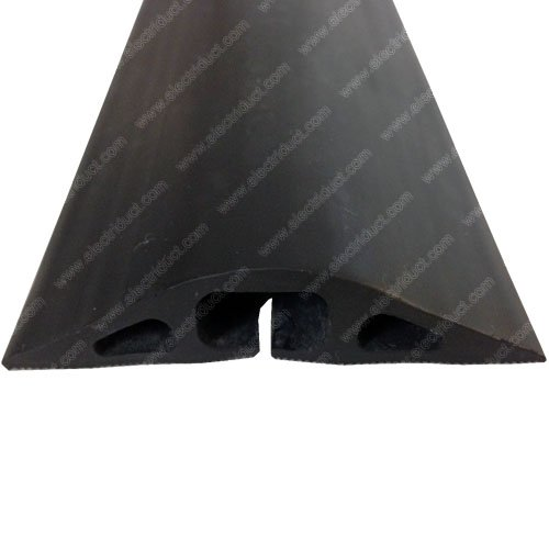 d 2 rubber duct cord cover 3ft black new ebay. Black Bedroom Furniture Sets. Home Design Ideas